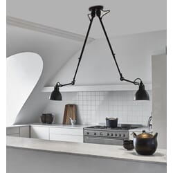 Taklampe 302 double