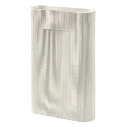 Ridge Vase Off White H:48,5