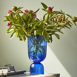 Vase Bottoms Electric Blue S